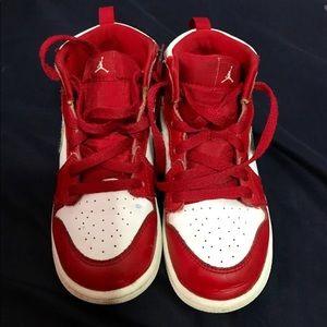 Red kids Jordan's